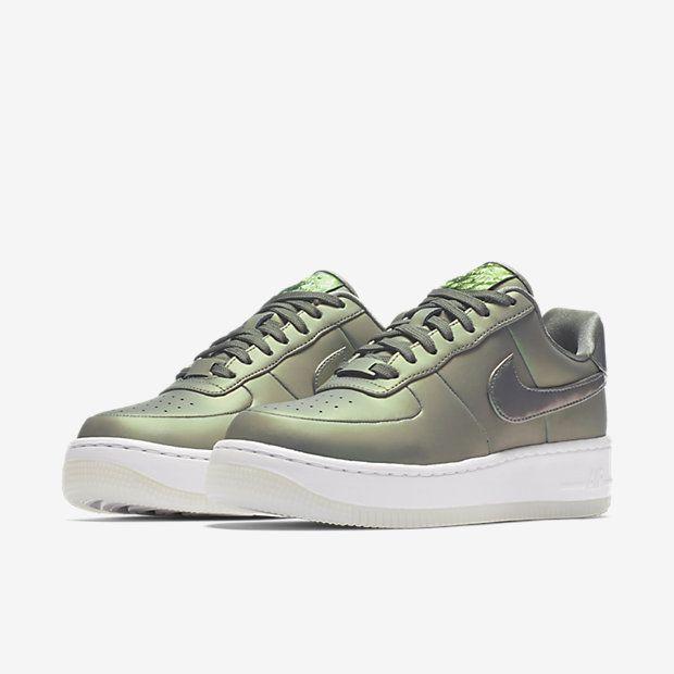 Nike Air Force 1 Upstep Premium LX Dark Stucco | Nike air force, Air force  and Ootd
