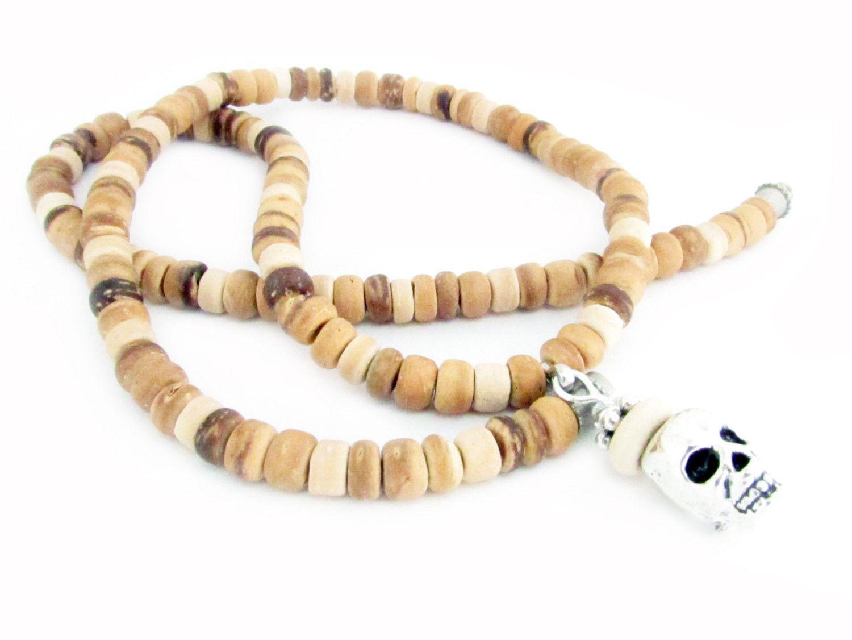 Boyfriend gift surfer necklace coconut shell necklace menus