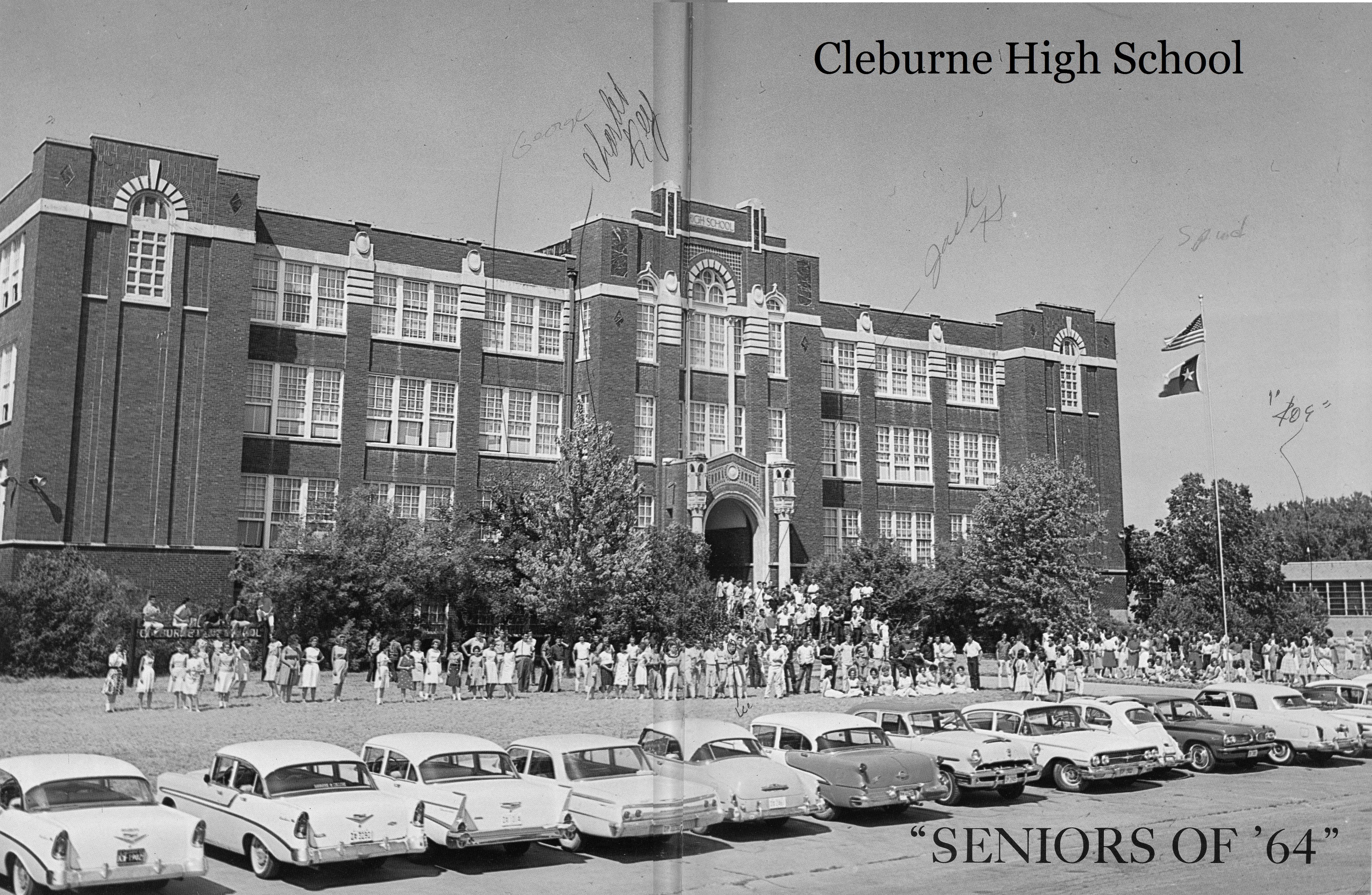 Cleburne High School 1964 Cleburne High School High School Seniors