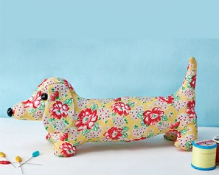 1950\'s Sewing - Dave The Dachshund Doorstop (The Vintage Pattern ...