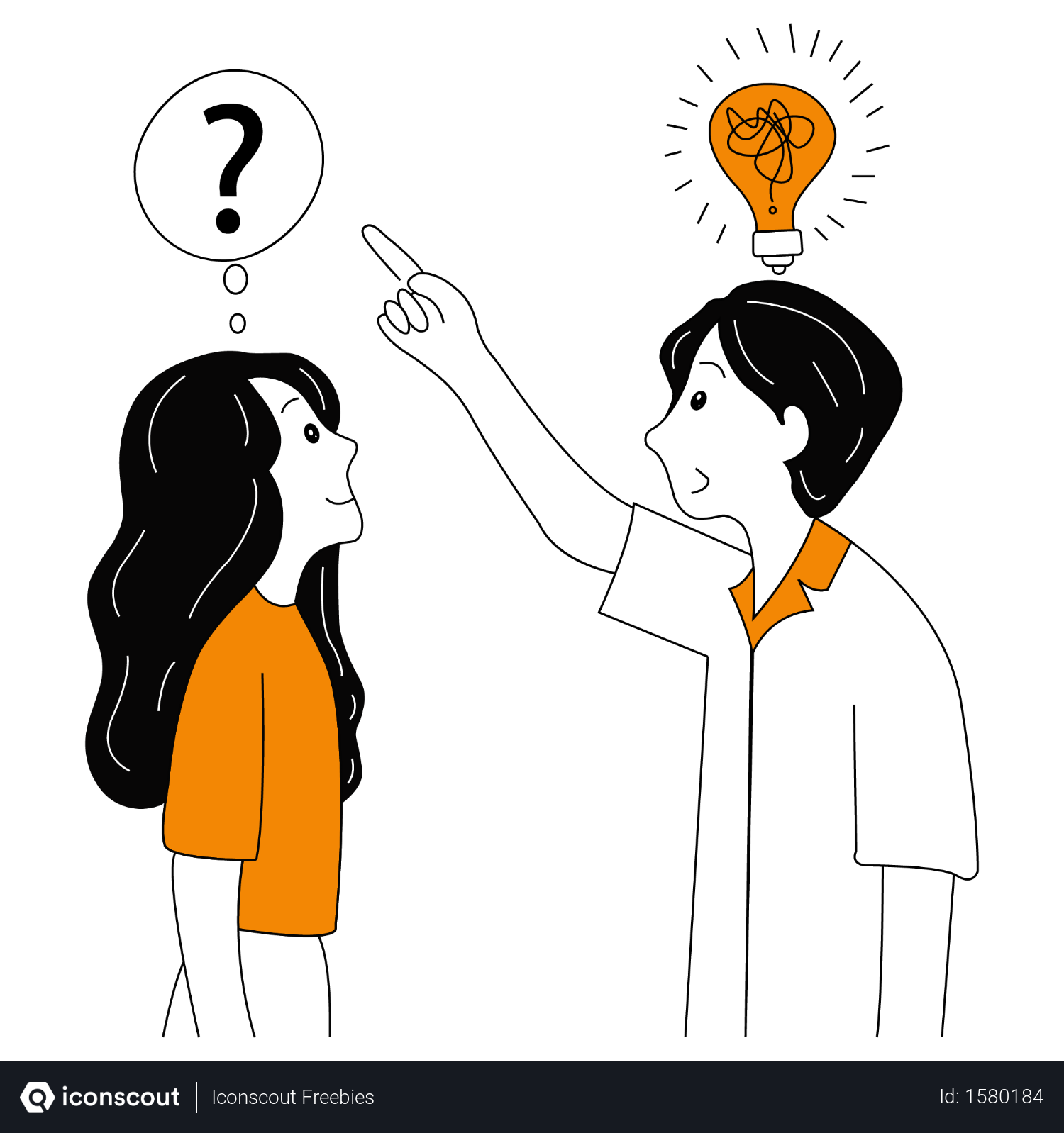Free Concept About Problem Solution By Business Manager Illustration Download In Png Vector Format Business Vector Illustration Business Illustration Illustration