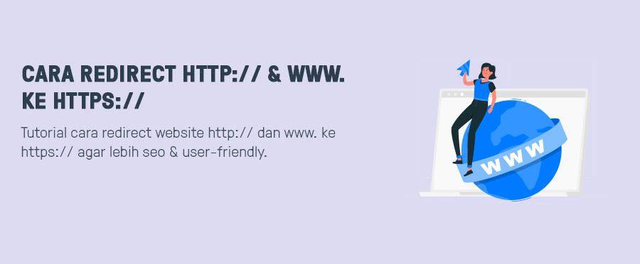 1 Cara Redirect Http Www Ke Https Belajar Website Wordpress