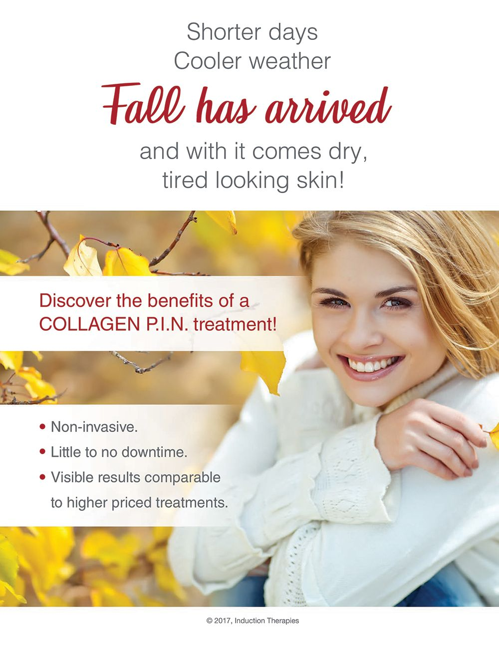 The Air Is Crisper The Days Are Shorter And The Leaves Are Changing Color Fall Has Arrived With The Beauty Of Fa Microneedling Treatment Laser Hair Removal