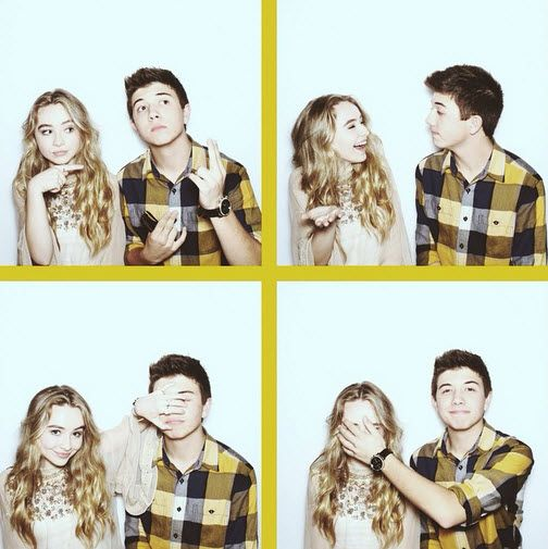 Sabrina Carpenter & Bradley Steven Perry- SO CUTE!!!❤️