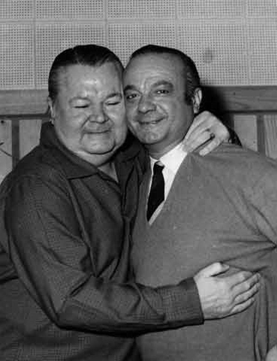 Anibal Troilo y Astor Piazzolla en 1951 | Tango argentino ...