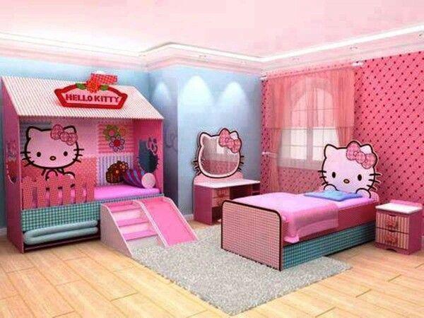Hello Kitty Children S Playroom Hello Kitty Rooms Hello Kitty
