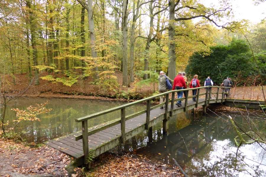 2e Gooimeer wandeltocht vanuit Huizen met de SOP    landgoed De Beek te Naarden