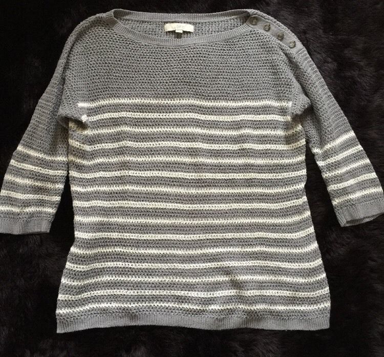 Ann Taylor Loft Quarter Sleeve Knit Shirt Women's Sz XL | eBay