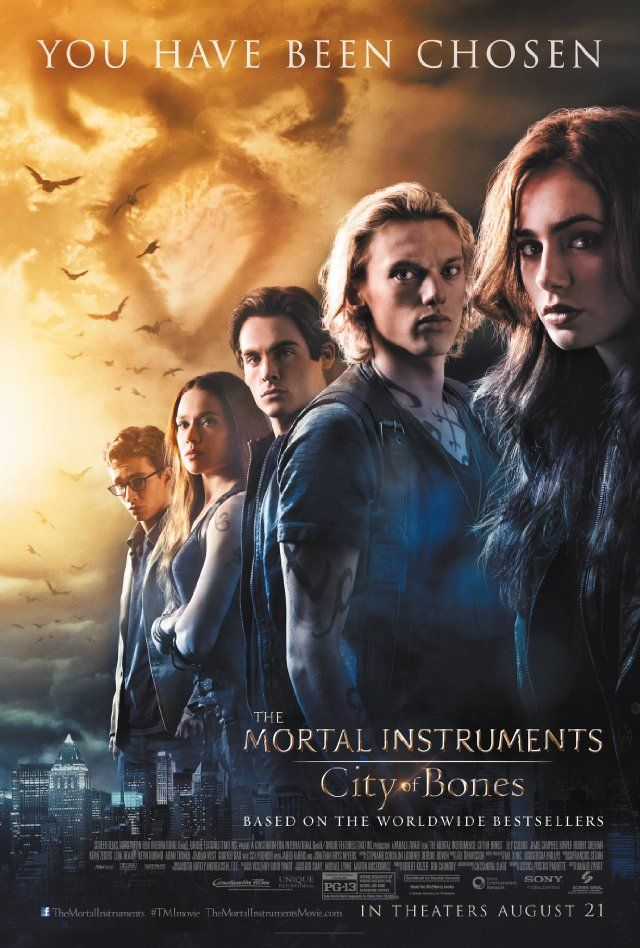 The Mortal Instruments City Of Bones 2013 To The Bone Movie Mortal Instruments Movie The Mortal Instruments