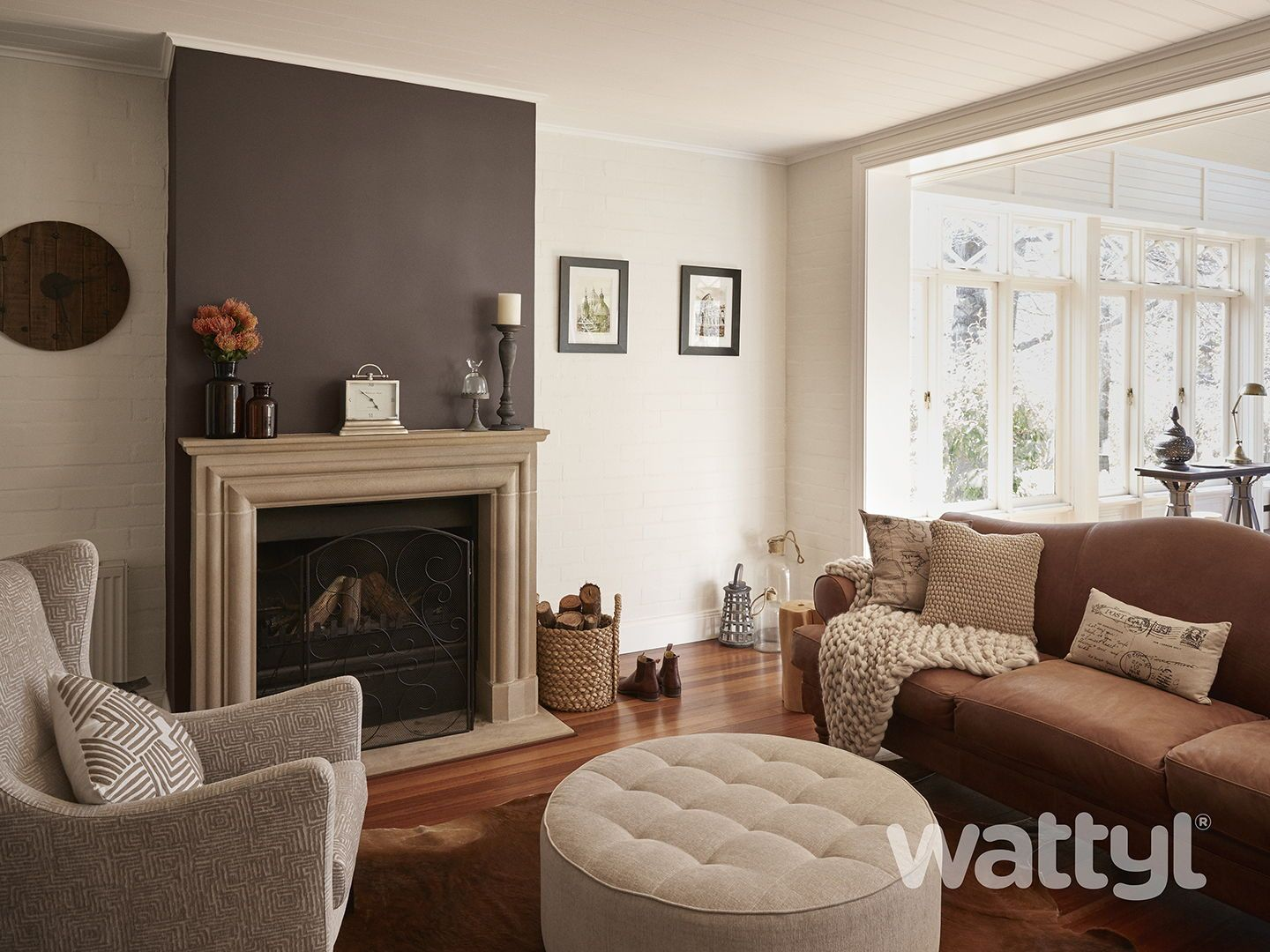 Warm and relaxing Interior colours to inspire your