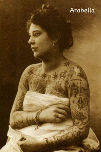 Vintage Tattoos / Amusing Planet