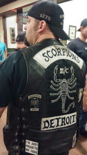 100%ER SFFS | Detroit scorpions M/C | Outlaws motorcycle