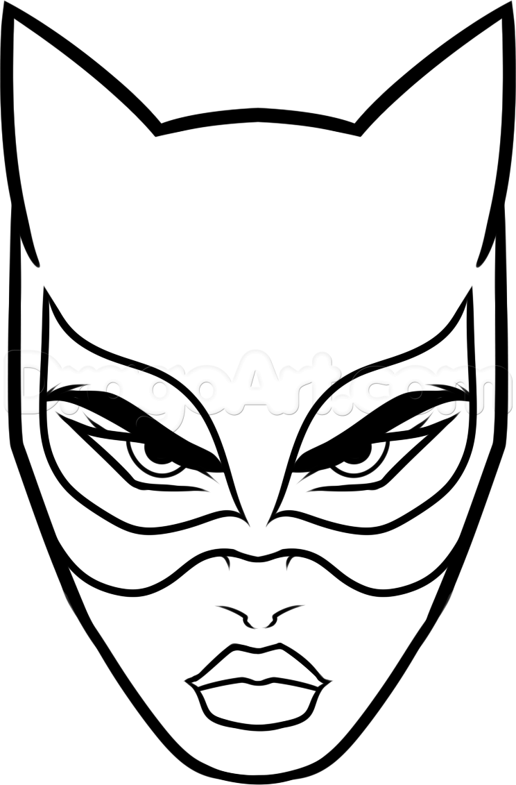 How To Draw Catwoman Easy Step By Dc Comics FREE