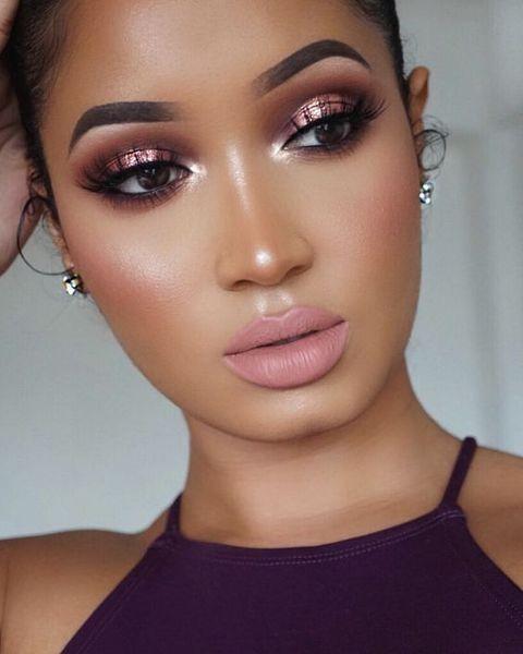 Maquiagem para mulheres negras: Makes modernas e i