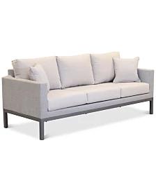 Furniture Carleese Outdoor Club Chair With Sunbrella Cushions