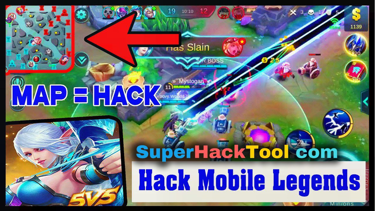pin on mobile legends mod apk