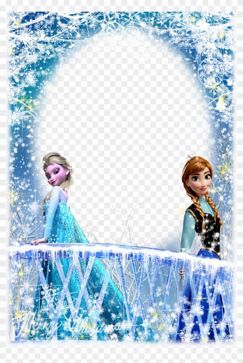 Find Hd Frozen Frames And Borders Hd Png Download To Search And Download More Free Transparent Png Images Frozen Cards Birthday Frames Frozen Birthday Theme