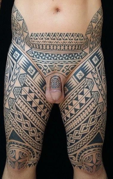 Pants - Pe\u0027a The Best Polynesian Tattoos in the World creepy