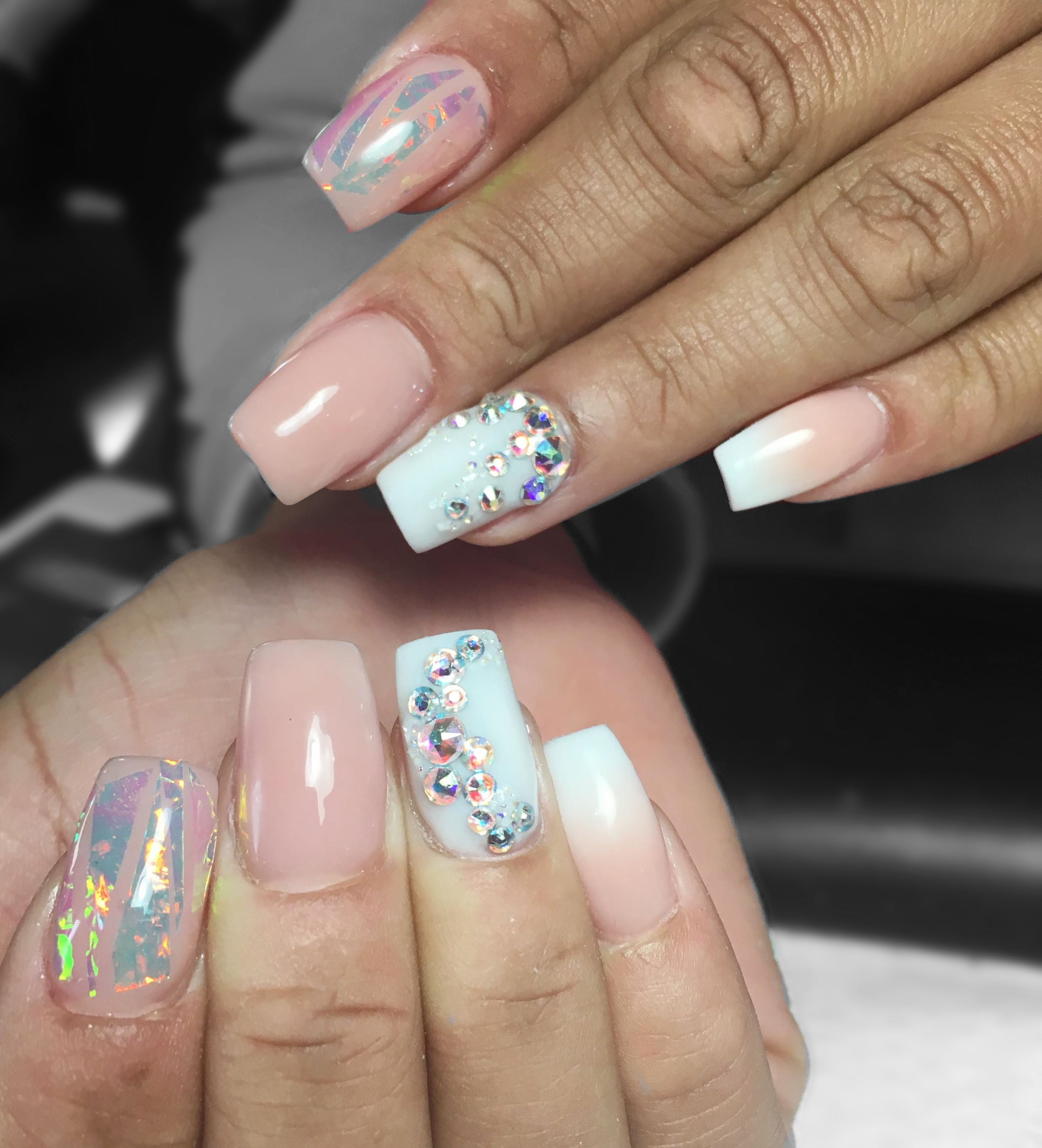 Full Set Acrylic - Hands $25 Square full sets (Price does not ...