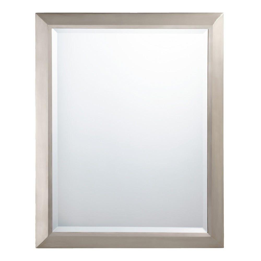 Photo of Kichler Lighting Transitional Wall Mirror in Brushed Nickel – Nickel in Brushed Nickel – A / N.