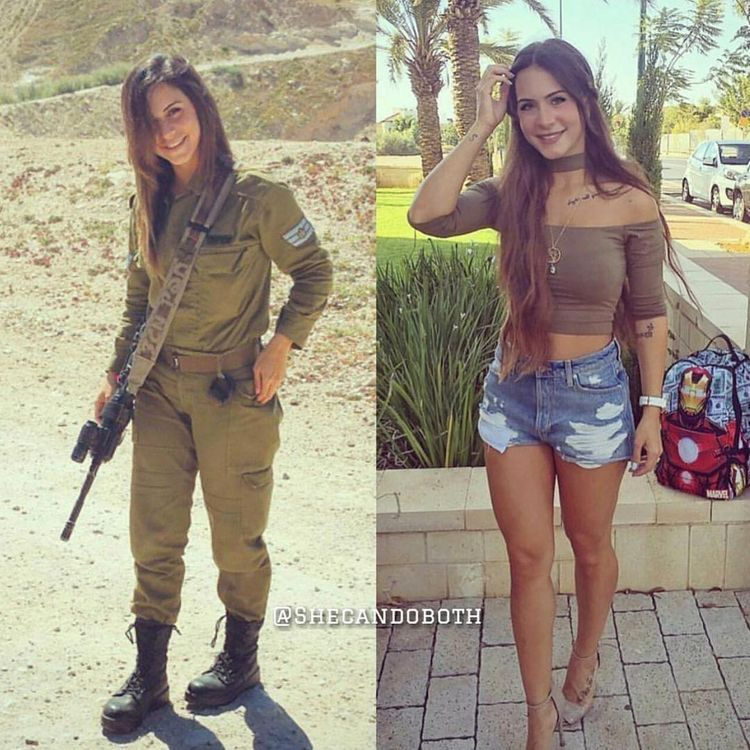 Interesting. army girls dressed then undressed are