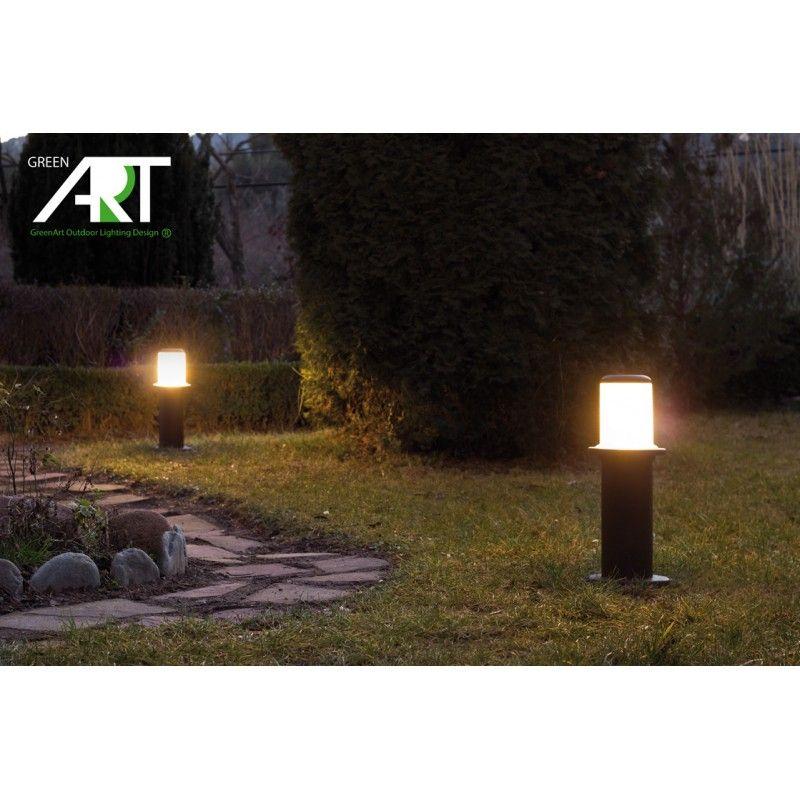Baliza para jard n luminaria para exterior luminarias for Luces para jardin exterior