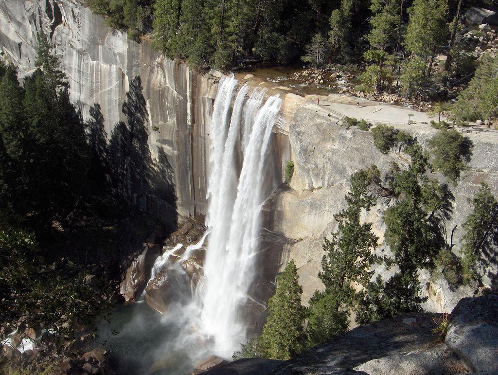 Resultado de imagen de Vernal Falls