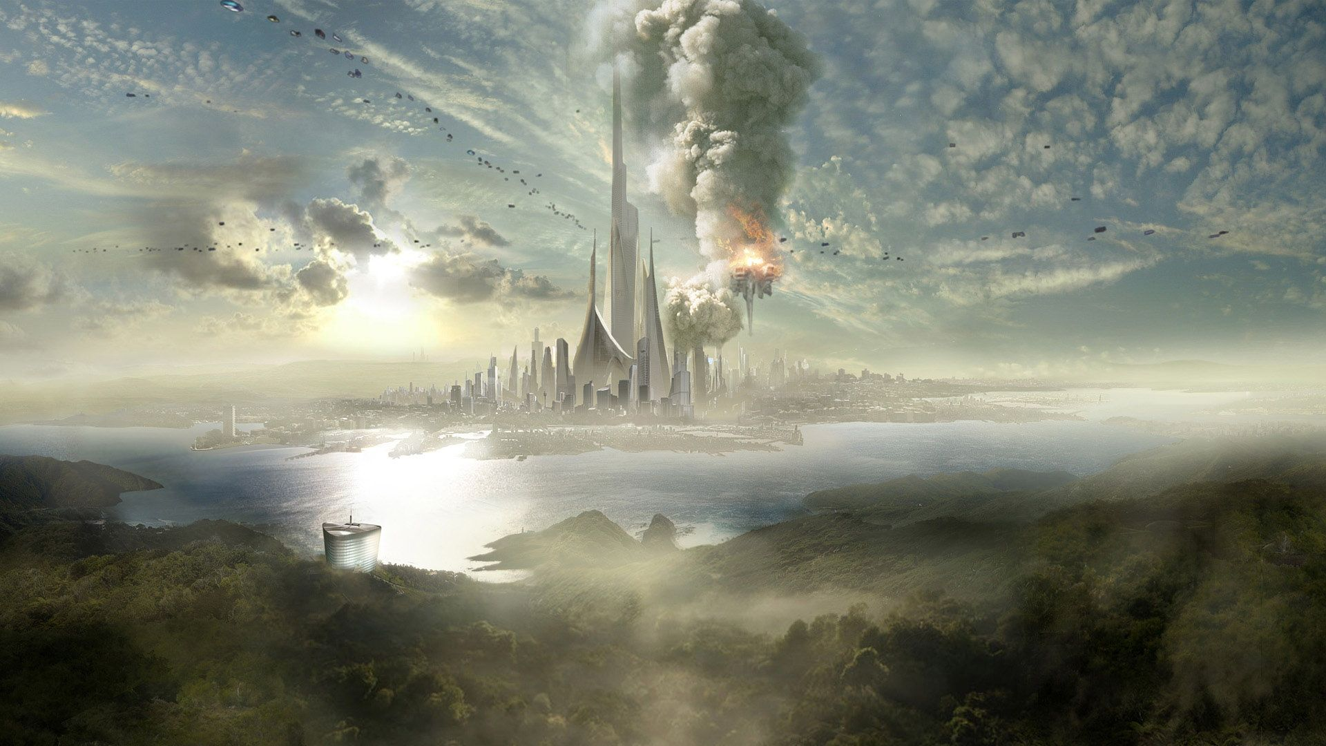 Fantasy Wallpapers Hd Wallpapers Backgrounds Of Your Choice Sci Fi Wallpaper Fantasy Landscape Fantasy Background