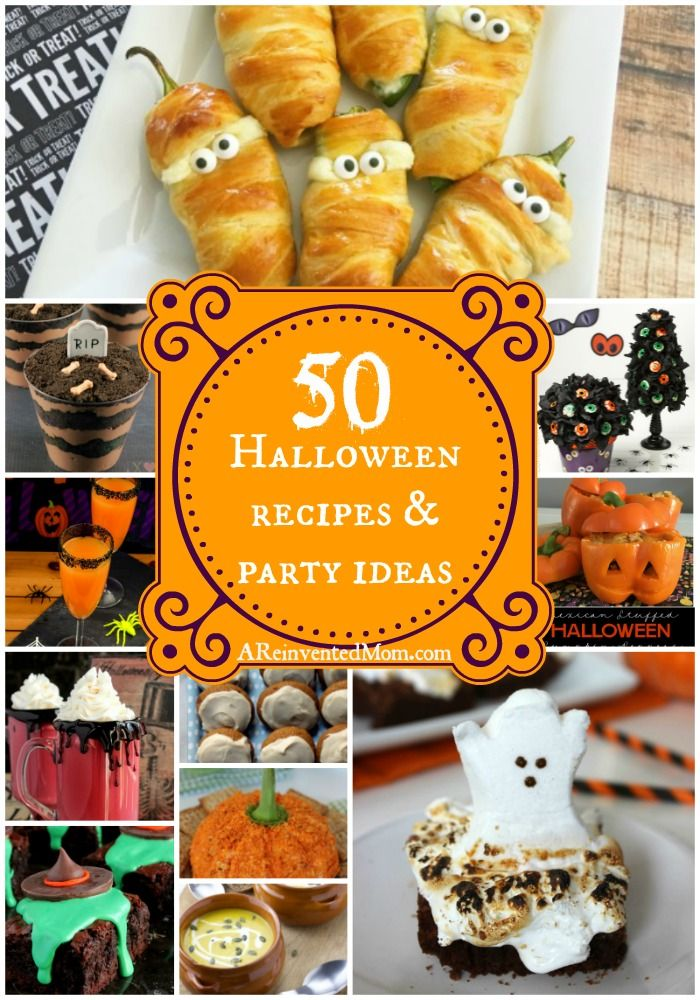 70 Easy Halloween Party Recipes & Decorations