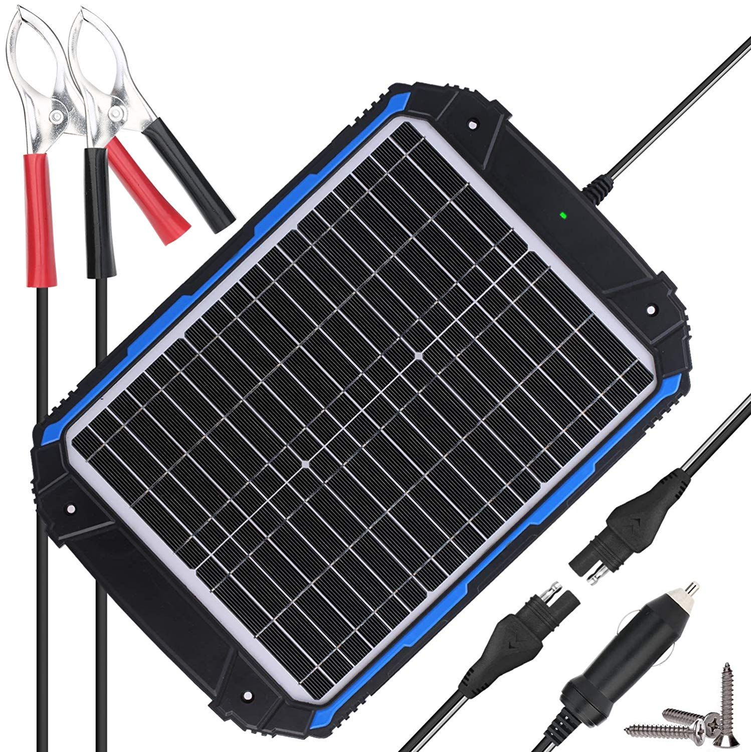 Suner Power Waterproof 12v Solar Battery Charger Solar Battery Charger Solar Power Solar