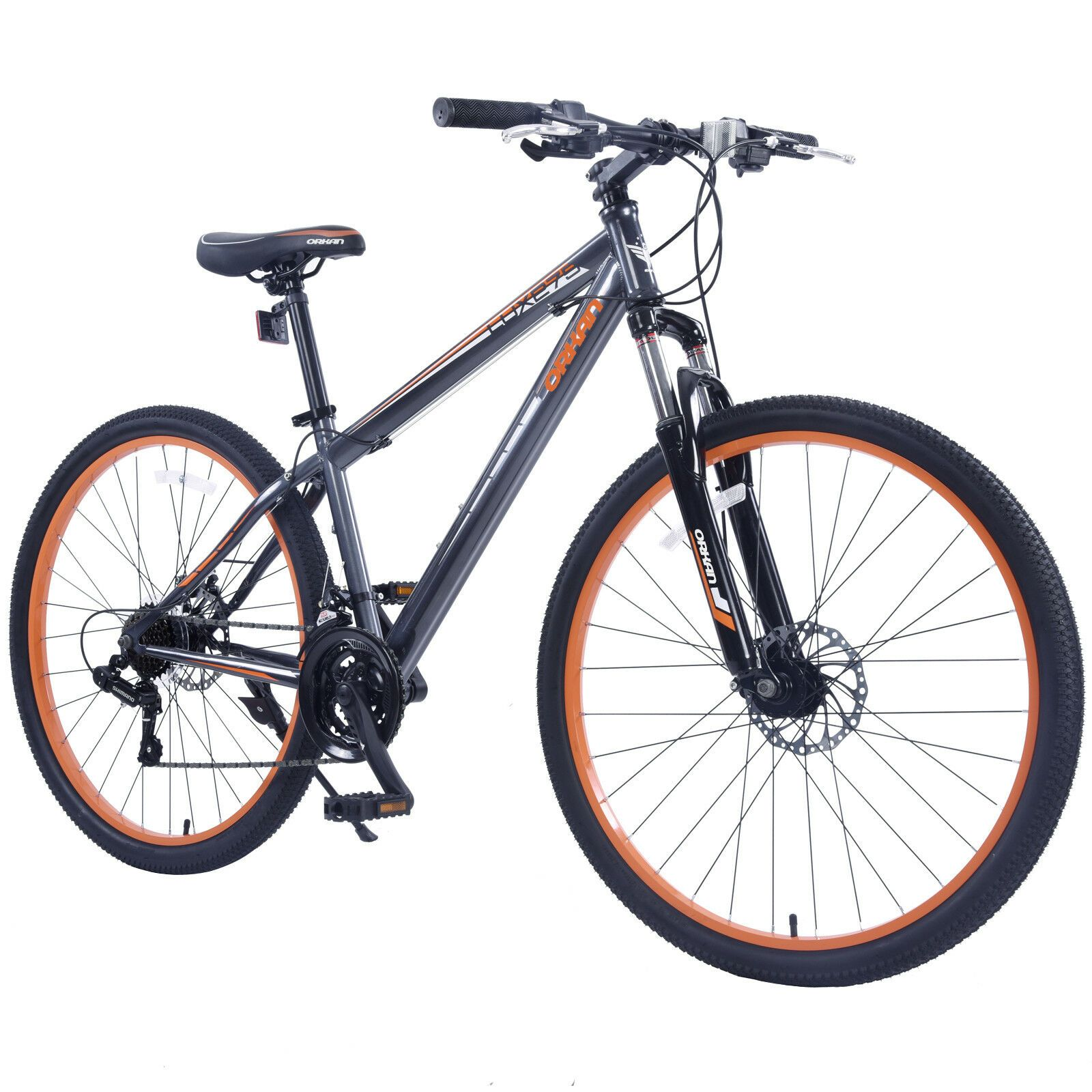 Kenwell 27.5 Mens Mountain Bike Shimano Hybrid 21 Speed
