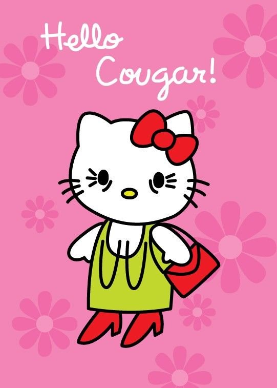 Hello cougar womens birthday card so funny pinterest funny funny dirty x rated naughty and hilarious womens birthday greeting cards m4hsunfo Images
