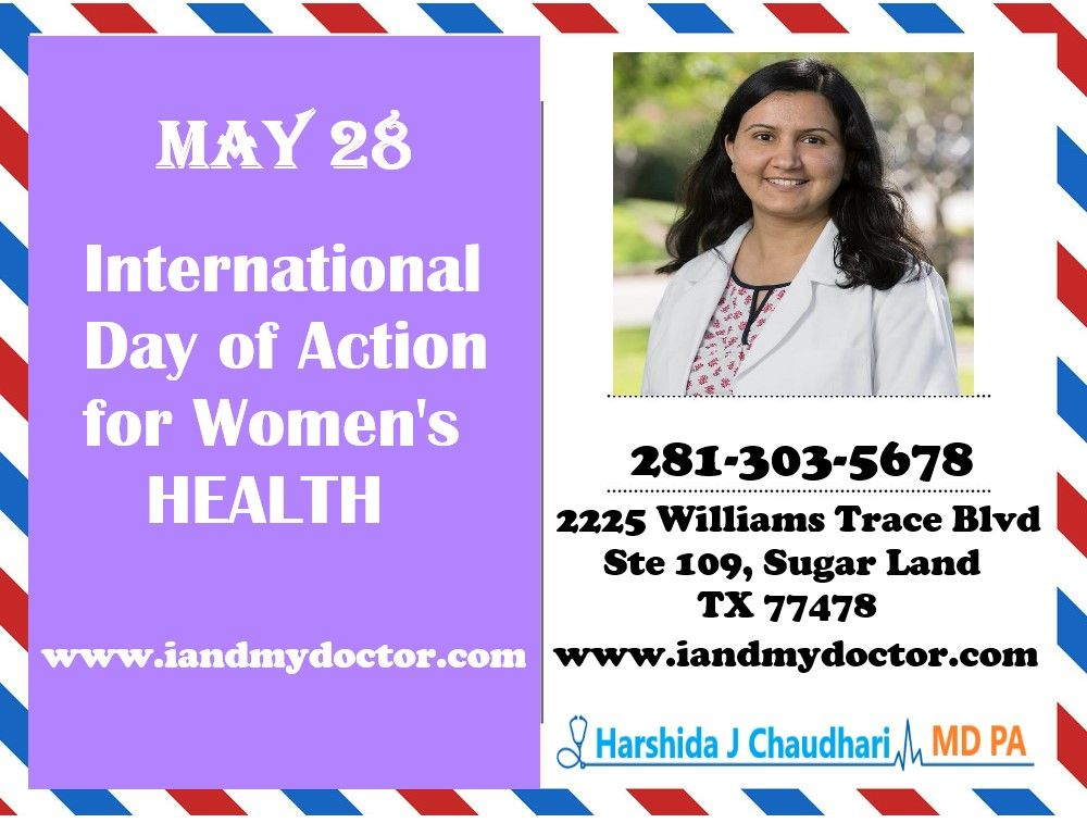 International Day of Action for Women's Health in 2020