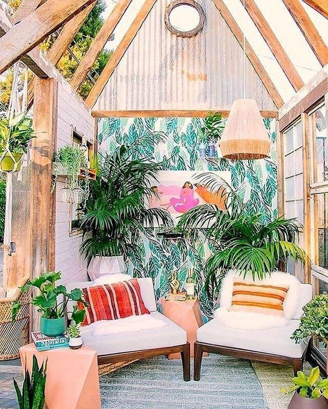 25 Wonderful Balcony Design Ideas For Your Home: 40 Wonderful She-Sheds Decor Ideas To Inspire Your Garden