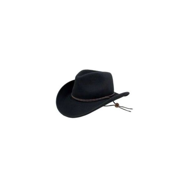 Bailey Sequoia Lite Felt Cowboy Hat ( 60) ❤ liked on Polyvore featuring  accessories 816e45f55734