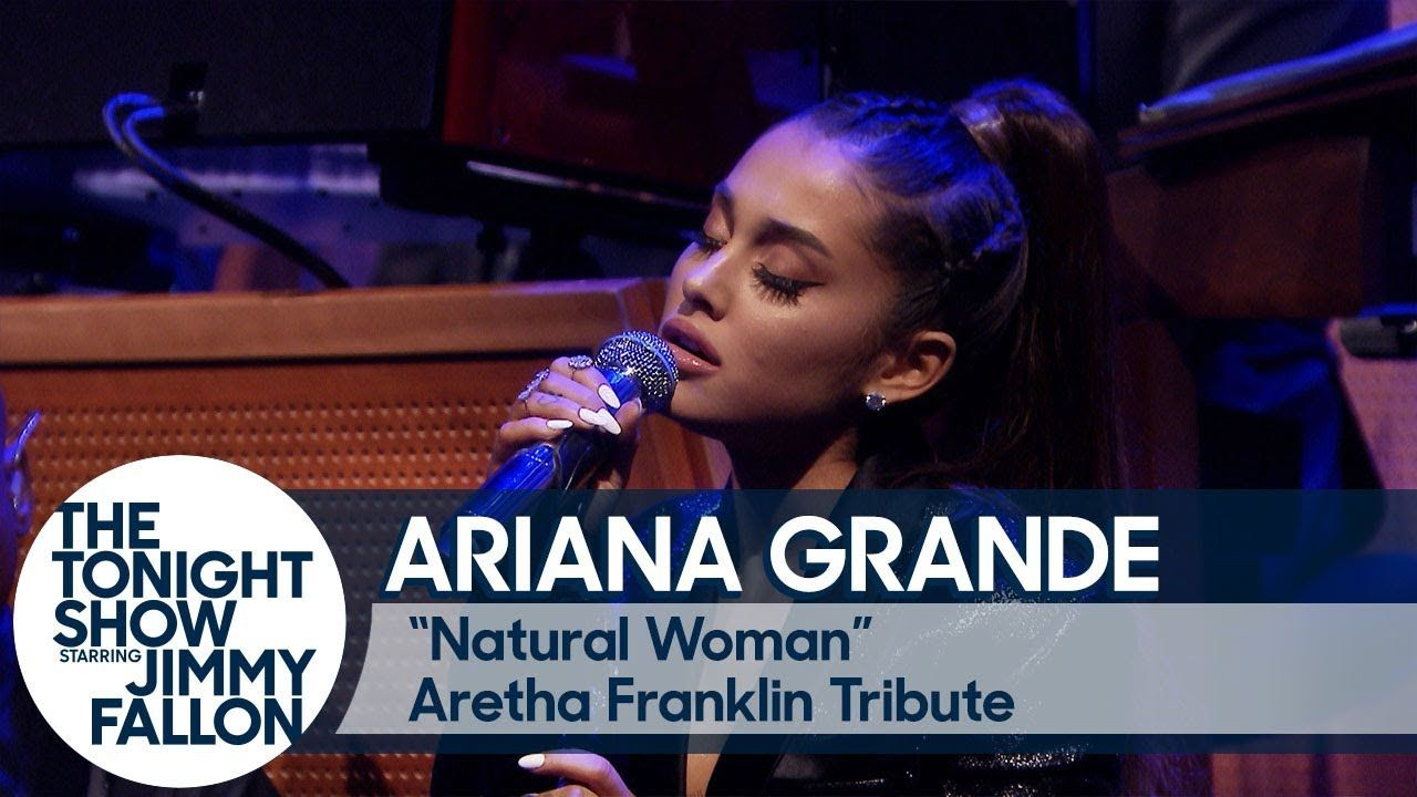 Ariana Grande And The Roots Perform Natural Woman In Tribute To