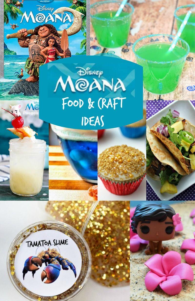 Disney moana party crafts u moana food ideas food ideas craft