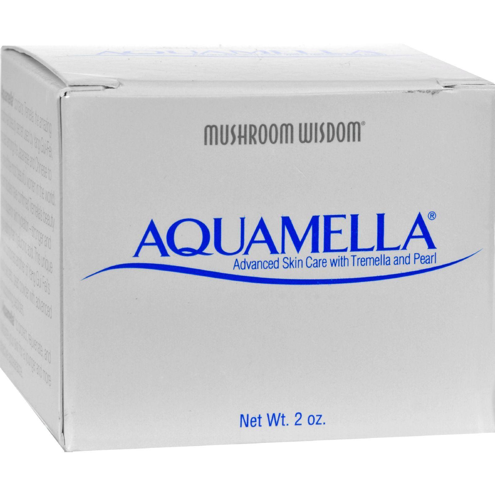 Mushroom Wisdom Aquamella - 2 Oz Dermelect Detoxifying Oxygen (o2) Facial Commission  100ml/3.3oz