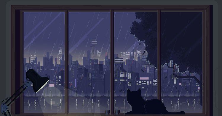 Pin By Kaitlin On Aesthetic In 2020 Desktop Wallpaper Art Pixel Art Landscape Anime Backgrounds Wallpapers