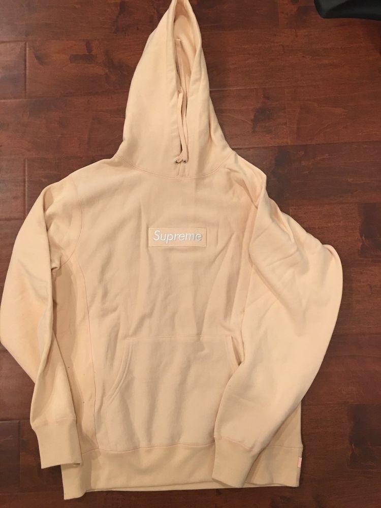 Supreme Peach Box logo hoodie  Supreme  Hoodie 58b6c7882d