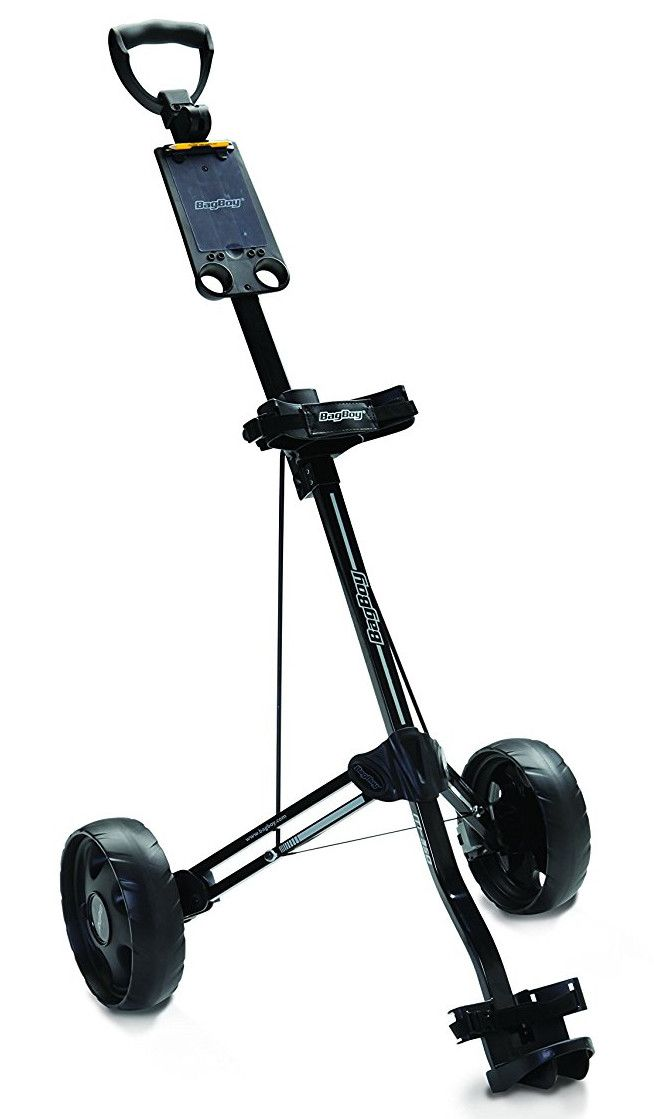 This Well Made Sy And Reliable M350 Golf Pull Cart By Bag Boy Is Construted Using Enlarged Reinforced Side Rods High Strength Support Cables For