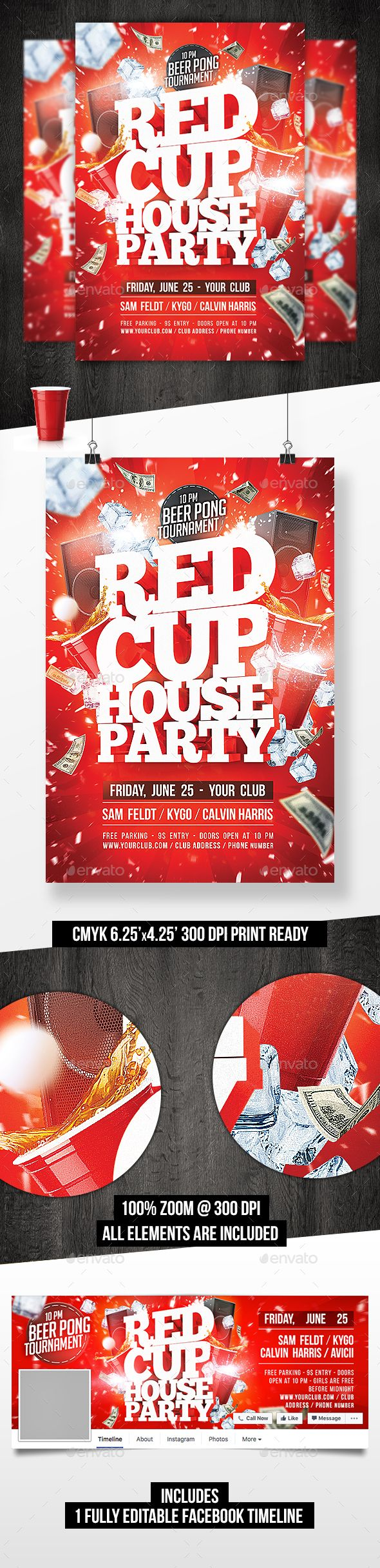 Red cup house party flyer template facebook timeline party red cup house party flyer template facebook timeline saigontimesfo