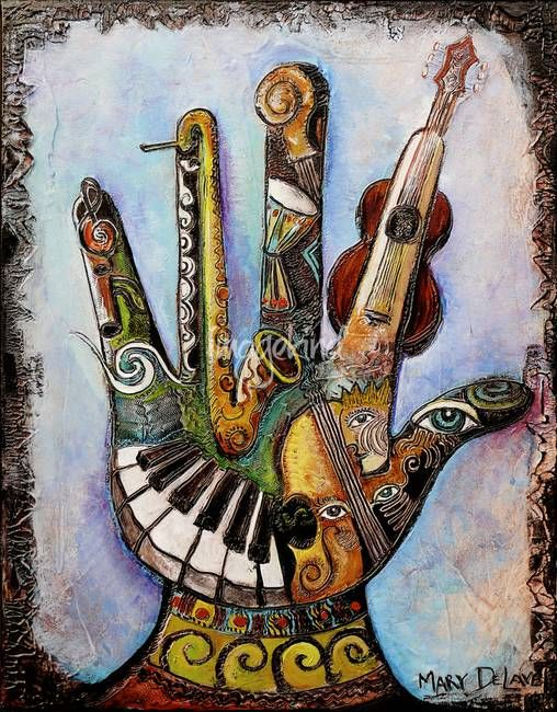 """Handful of Music"" by Mary DeLave"