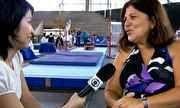 Profissão Repórter - Georgette Vidor fala sobre a rotina de uma ginasta | globo.tv