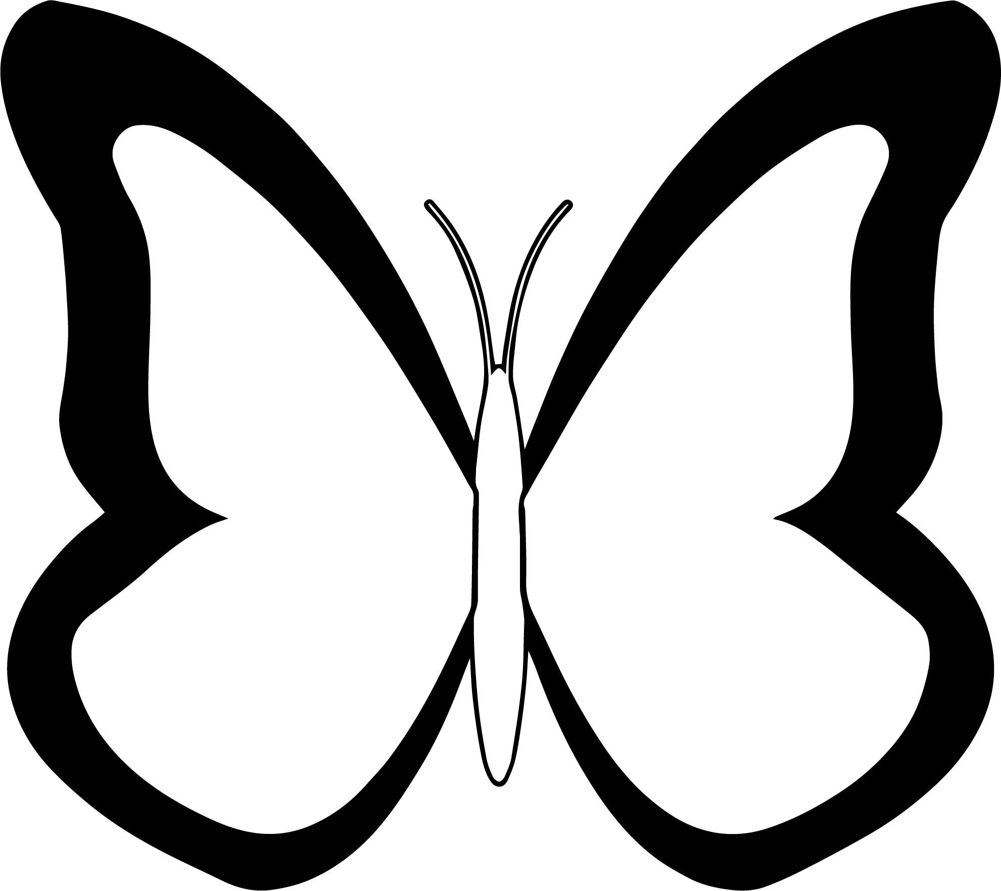 Nice Black White Butterfly Coloring Page Butterfly Coloring Page Love Coloring Pages Butterfly Black And White [ 1763 x 1981 Pixel ]