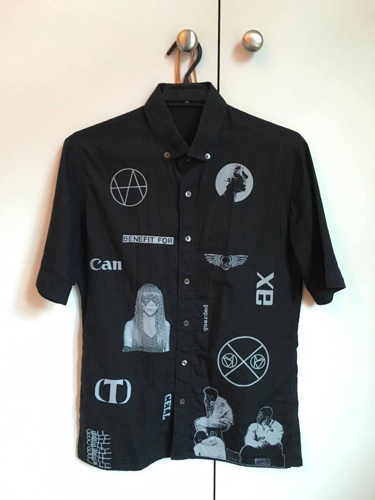76f82706941a Buy Raf Simons Consumed shirt, Size: M, Description: Raf Simons SS2003  Consumed short sleeve button up shirt. Very rare sought after archival  piece.