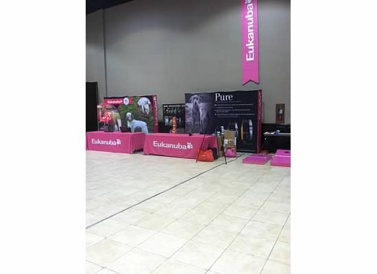 Eukanuba Booth Dog Show Pure Products Event Venues