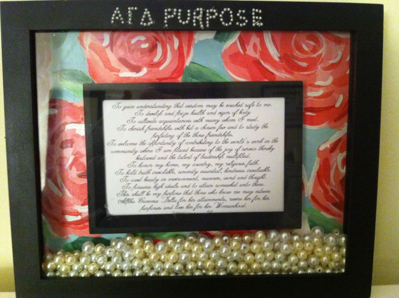 Live with purpose! AGD submitted by: 1904   sorority shiz   Pinterest