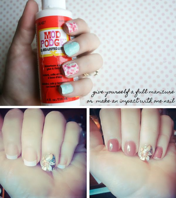 Make Your Own Fabric Nail Wraps Kyla Roma