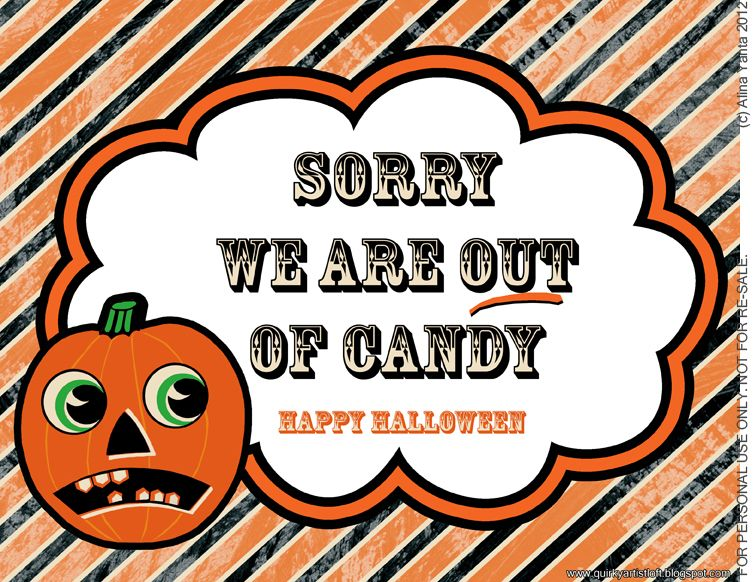 image about Happy Halloween Signs Printable named No cost Printable Halloween Signal. \